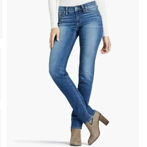 """Lucky Brand Mid-Rise """"Sweet Straight"""" Jeans"""